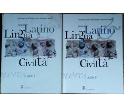 Corso di latino lezione 1e2 - AA.VV.- Le Monnier - R