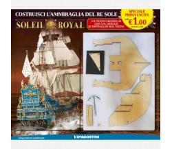 Costruisci il Soleil Royal - 1° uscita - DeAgostini