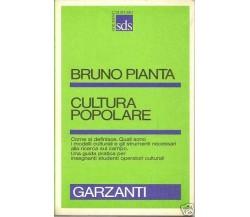 Cultura popolare - Bruno Pianta,  1982,  Garzanti
