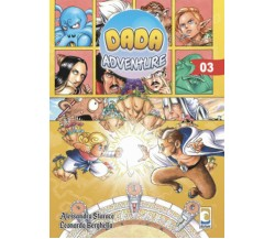 DADA ADVENTURE volume 3 di Storace, Berghella,  Manga Senpai