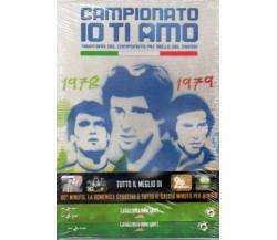 DVD Campionato Io ti amo 1978-1979  n.1 NUOVO NEW