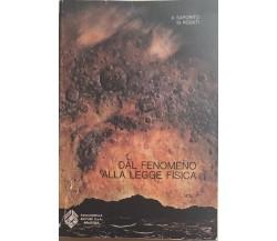 Dal fenomeno alla legge fisica vol.II di Aa.vv., 1979, Paccagnella Editore