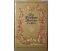Das Frankfurter Anekdoten Büchlein-Karl Friedrich Baberadt1964,Waldemar Kramer S