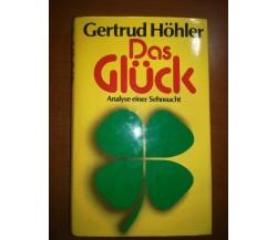 Das  Gluck - Gertrud Hohler - Econ - 1981 - M