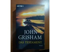 Das testament - John Grisham - Heyne - 2000 - M