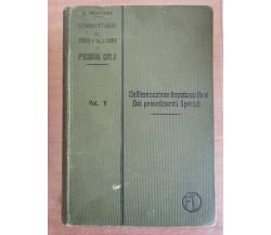 Dell'esecuzione forzata sui Beni dei procedimenti speciali-Mortara-1900- AR