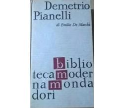 Demetrio Pianelli - Emilio De Marchi (1963,  Bmm) Ca