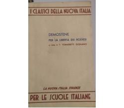Demostene per la libertà dei Rodiesi-T.T.Gusmano,1967,La Nuova Italia -S