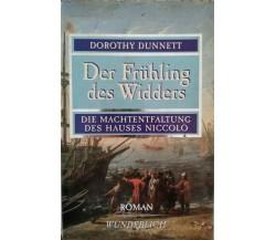 Der Fruhling des Widders  di Dorothy Dunnett,  1990,  Roman Wunderlich - ER