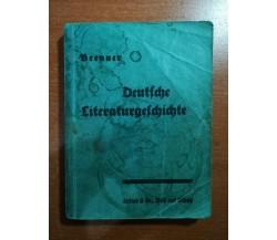Deutiche Literatur - Brenner - Berlag  - M