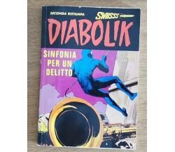Diabolik, sinfonia per un delitto - AA. VV. - 2013 - AR