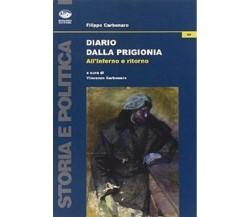Diario dalla prigionia. All'inferno e ritorno - Carbonaro, Filippo,  2011 - C