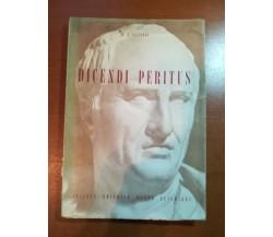 Dicendi Peritus - M.T. Cicerone - Dante Alighieri - 1959  - M