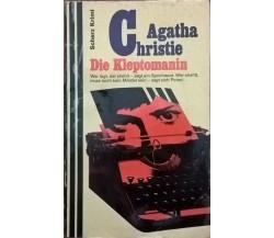 Die Kleptomanin -  Agatha Christie (1958 Krimi) Ca