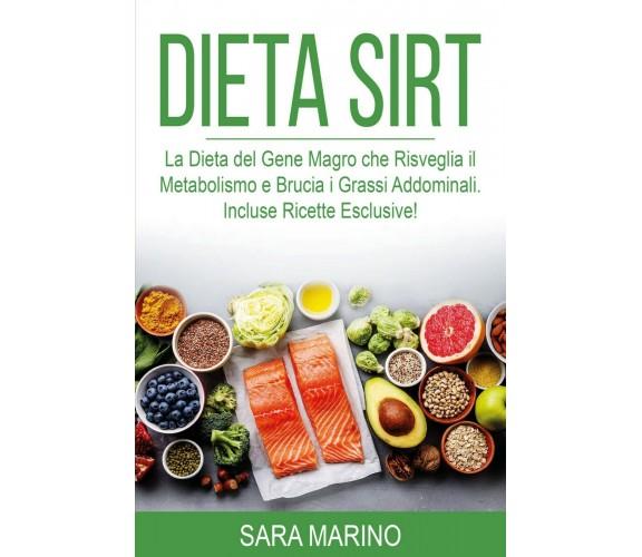 Dieta Sirt di Sara Marino,  2021,  Youcanprint