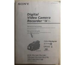 Digital video camera recorder Mini DV manuale di Aa.vv.,  2002,  Sony