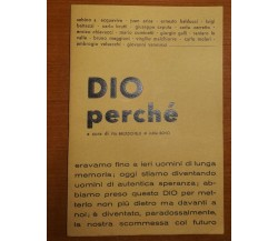 Dio perchè - AA.VV. - Assisi - 1971 - M