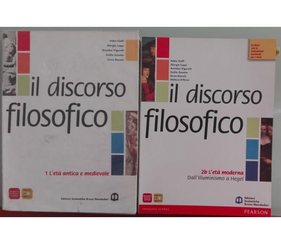 Discorso filosofico - Fabio Cioffi - Bruno Mondadori, 2011 - A