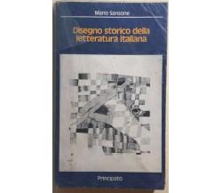 Disegno storico della letteratura italiana di Mario Sansone,  1979,  Principato