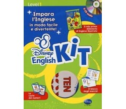 Disney english kit. Impara l'inglese in modo facile e divertente! - Disney - C