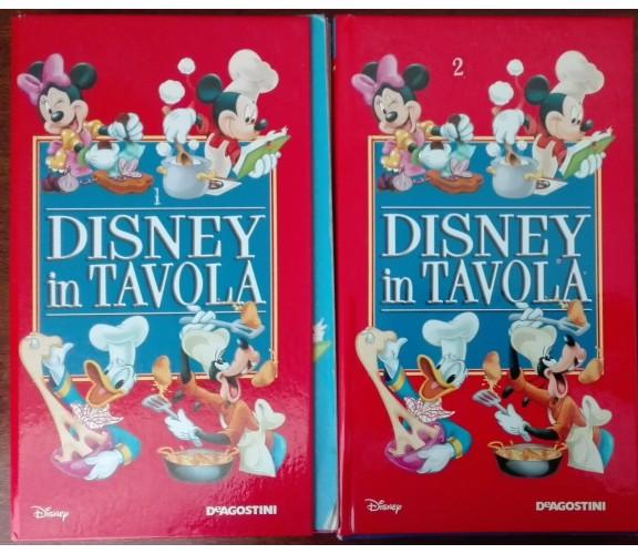 Disney in tavola. Vol 1 e 2 - AA.VV. - De Agostini, 2005 - A