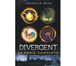 Divergent - La serie completa  di Veronica Roth,  2019,  Dea Planeta