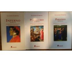 (Divina commedia) Paradiso - Purgatorio - Inferno - Riscrittura interpretativa..
