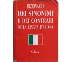 Dizionario dei sinonimi e dei contrari della lingua italiana, 1990, GEA