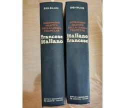Dizionario pratico della lingua francese - E. Balmas - DeAgostini - 1979 - AR