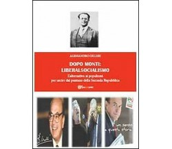 Dopo Monti: liberalsocialismo  di Alessandro Gilleri,  2013,  Youcanprint
