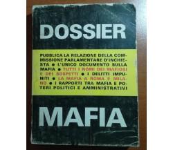 Dossier Mafia - Alberto Consiglio - SO.GRA.RO - 1972 - M