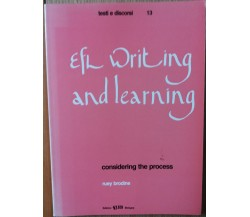 EFL writing and learning considering the process - Brodine - CLUEB,1990 - R