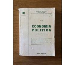 Economia politica - Edizioni Simone - 1985 - AR