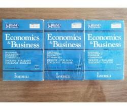 Economics & Business vol. I, III, V - F. Picchi - Zanichelli - 2004 - AR