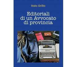 Editoriali di un Avvocato di provincia di Italo Grillo,  2020,  Youcanprint