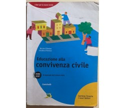 Educazione alla convivenza civile di Nicola E Cristina D'Amico, 2006, Zanichelli