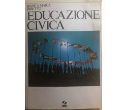 Educazione civica di Bianca Maria Ribetto,  1983,  Sei