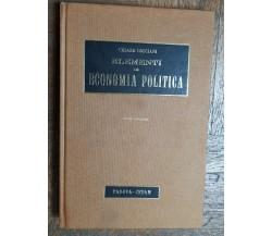 Elementi di economia politica - Cosciani - CEDAM,1973 - R