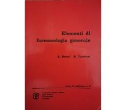 Elementi di farmacologia generale (Bruni, Tarchini, 1972) - ER