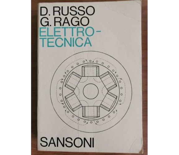 Elettrotecnica - Russo/Rago - Sansoni - 1974 - AR