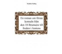 En roman om förste konsuln från den 18 Brumaire till freden i Amiens