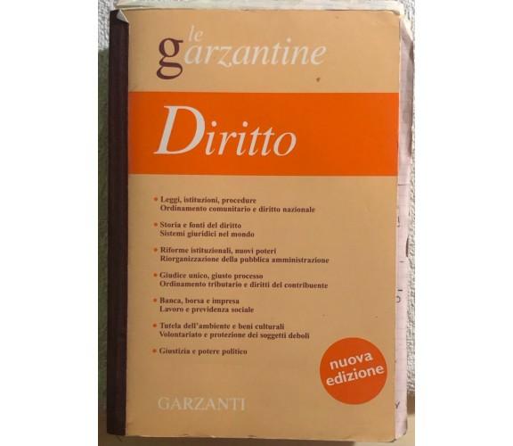 Enciclopedia del diritto di Garzanti (milano),  2001,  Garzanti Libri