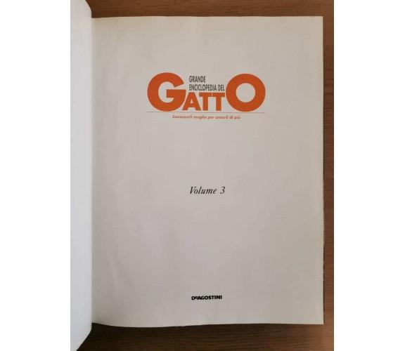 Enciclopedia del gatto 3 - AA. VV. - De Agostini editore - 1992 - AR