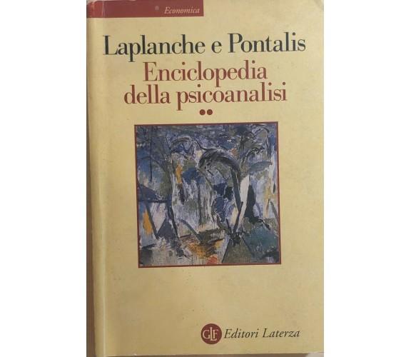 Enciclopedia della psicoanalisi 2 di Aa.vv., 2006, Editori Laterza