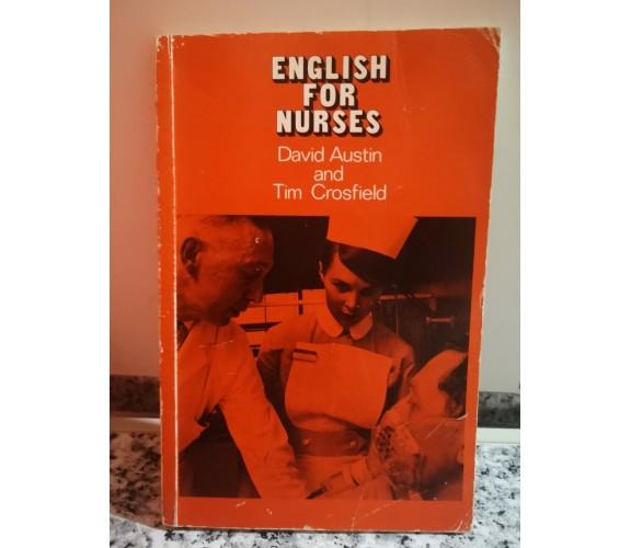 English For Nurses di D. Austin,  1976,  Longman -F
