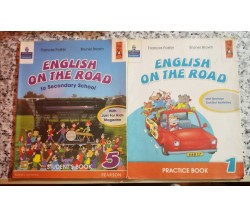 English on the road. Practice book. vol 1 e 5 di Frances Foster,  2009,Lang -f