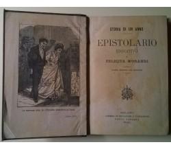 Epistolario educativo - Storia di un anno - F. Morandi - P. Carrara, 1904 - L