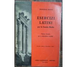 Esercizi Latini Vol.II - Manna - Carlo Signorelli Editore,1958 - R