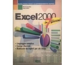 Excel 2000 in 7 giorni - Castrofino Gioffrè (Master 2000) Ca