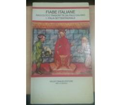 FIABE ITALIANE - ITALO CALVINO - EINAUDI - 1991 - M